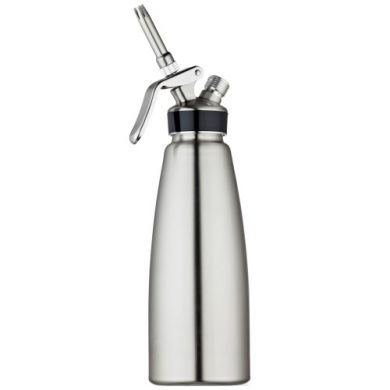 Shiny Professional Stainless Steel 500ml Whipper